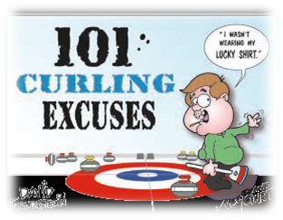 Книга 101 Curling Excuses